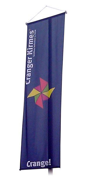 Fahnen Banner, Bannerfahnen