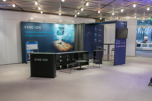 Messestand Berlin - Kinexon