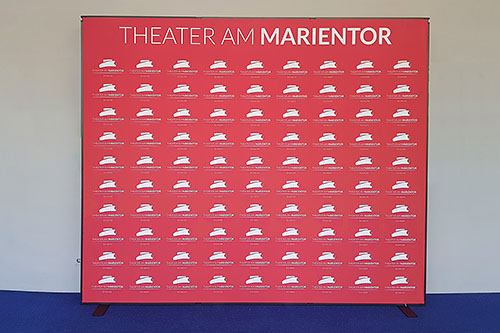 Mobile Messewand Berlin - Theater am Marientor