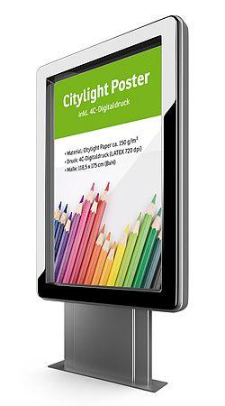 Citylight-Plakate